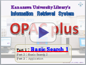 Let's use Opac plus Basic Search1