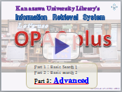 Let's use Opac plus advanced